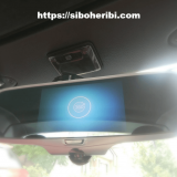 360度パノラマ録画ミラー型ドライブレコーダー&バックカメラセット起動画面