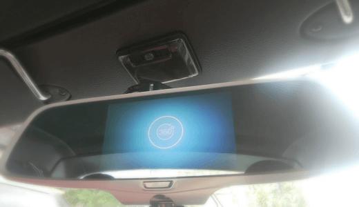 コペンに取付!ミラー型360度全方位ドライブレコーダー&バックカメラ(QD-DVR360S&DVR360BC)