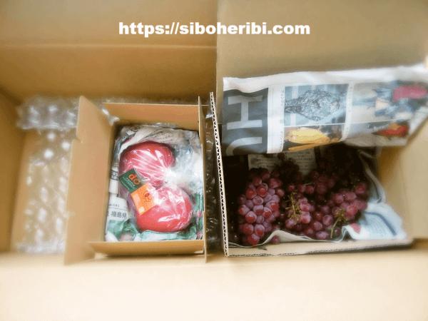 大地を守る会:傷みやすい食べ物の梱包
